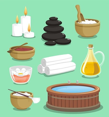 hot tub benefits for skin