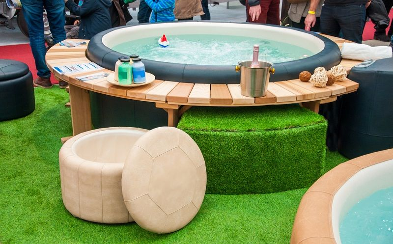 hot tub furniture